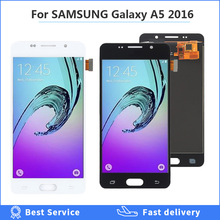 OLED LCD Replacement For Samsung Galaxy A5 2016 A510 A510F A510M A510FD LCD Display Touch