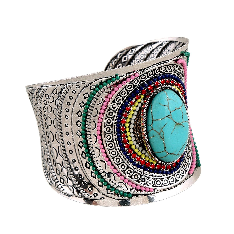 Open Wide Big Bracelets Amp Bangles For Women Men Retro New Alloy Female Cute Cuff Bangle Bracelet Fashion Jewelry accesorios
