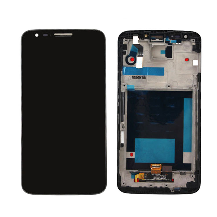 ФОТО Black For LG G2 D802 D805 D800 F320 LS980 LCD Display+Touch Screen Glass Panel Digitzer Assembly+Frame Replacement High Quality