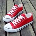 Zapatos de lona de Men & Women Unisex Shoes Moda Lace Up Todos Los Planos zapatos casuales de verano de la venta caliente 5 star zapatos de marca transpirable 2016