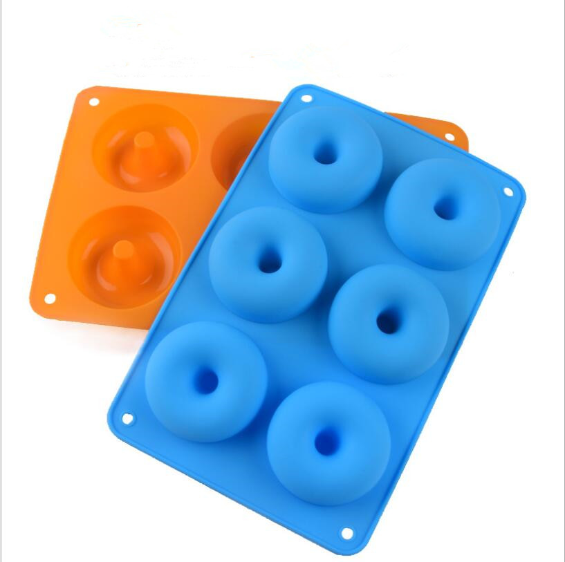 Donut Silicone Mould Silicone Cake Mold Dessert Baking Household DIY Tool