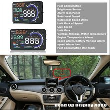 Liislee  For Mercedes Benz GLA Class MB X156 - Reflect to windshield cars Safety driving HUD head up display screen projector