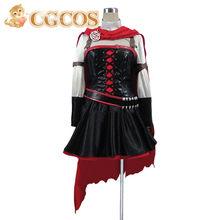 Juego anime rwby Ruby Rose Cosplay uniforme por encargo de Halloween(China 5232f6d261e6