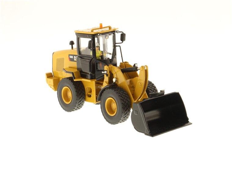 DM 1:50 Cat 938 K chargeuse sur pneus avec outil de travail Interchangeable machines d'ingénierie moulé sous pression modèle de jouet 85228 Collection, décoration