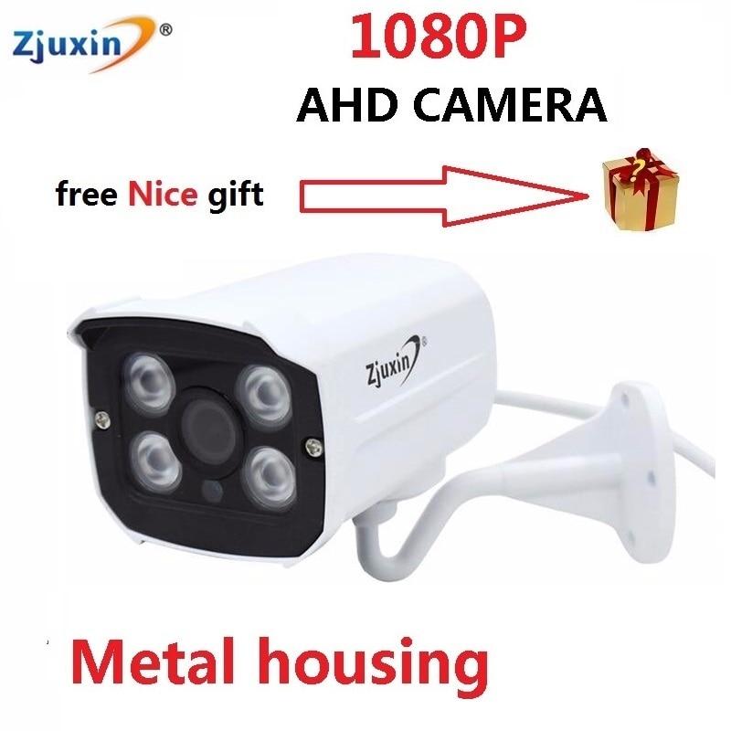 1PC 1080P ahd kamera CCTV Waterproof font b outdoor b font 4pcs array LED Night Vision