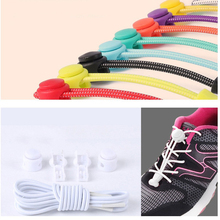 Colorful Locking Shoe Laces Elastic Shoelaces Shoestrings Running/Jogging/Triathlon/Sports Fitness Women Men Moving Accessories