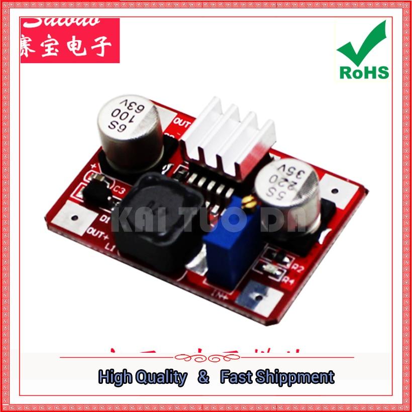 3pcs LM2577 converter Red High Voltage DC DC step up Booster Module INput 3.5V-35V OUT 5V-56V Indicator power supply board Boost