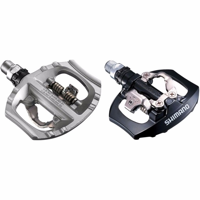 b4f3cc25ae3 Shimano A530 SPD Aluminum Pedal PD-A530 Pedals SPD Road Bike Touring Pedals  With SPD Cleats