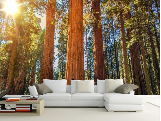 benutzerdefinierte 3d wandbild tapete dreidimensionale gro%c3%9fes wandbild tapete wald schlafzimmer wohnzimmer sofa 3d fototapete 20155172