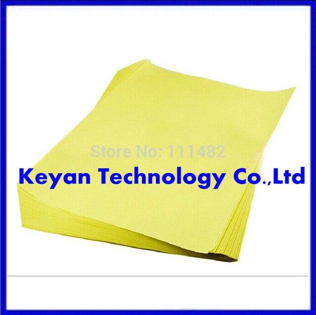 จัดส่งฟรี! 50ชิ้นแผงวงจรPCBกระดาษถ่ายโอนความร้อน,กระดาษถ่ายโอนA4ขนาดขายร้อนในสต็อกขอแนะนำ