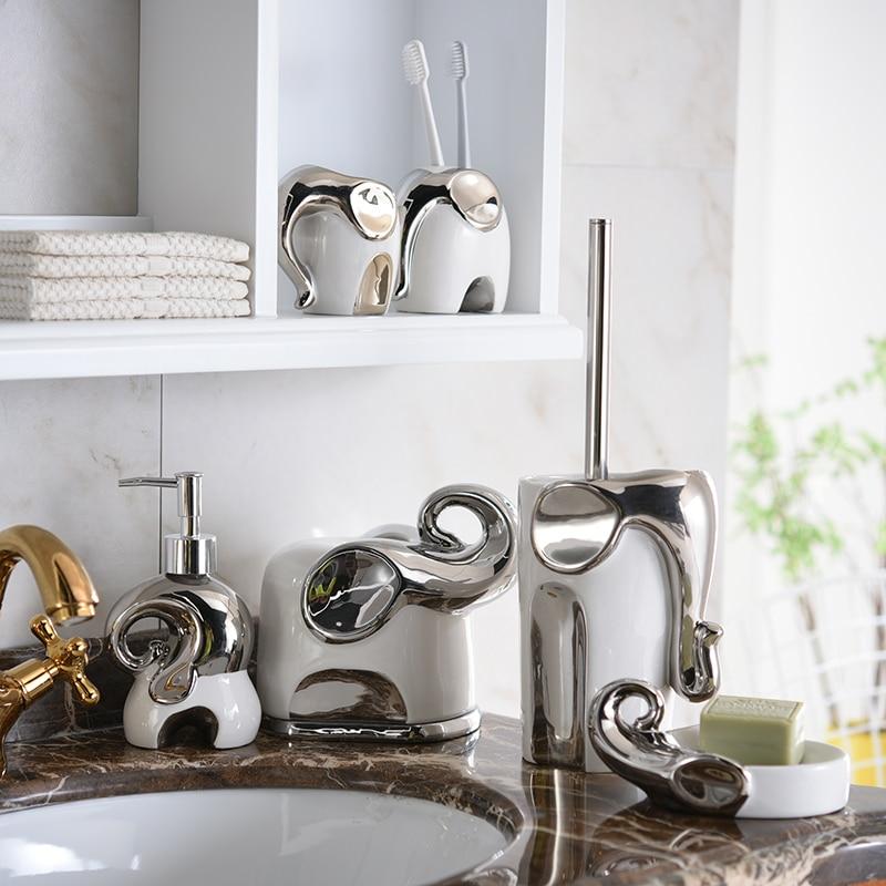 High Quality Europen Style Ceramic Bathtoom Set Lotion
