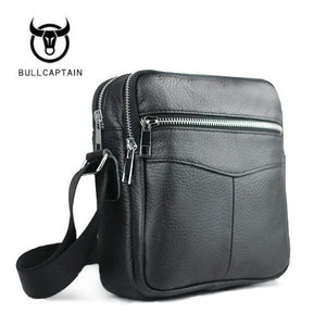 New High quality genuine leather men bag
