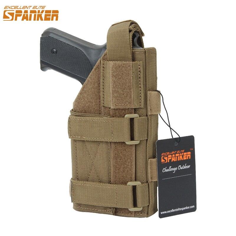 excelente elite spanker combate ao ar livre coldre pistola de treinamento coldre tatico airsoft arma coldre