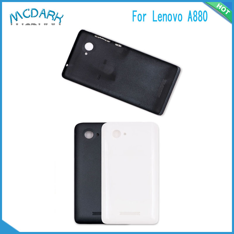 newest fe73f c11aa US $8.25 |Mcdark Battery Back Cover For Lenovo A880 Phone Housing  Replacement Parts Rear Door Case Logo+Button Lens For Lenovo A6000 K3-in  Fitted ...