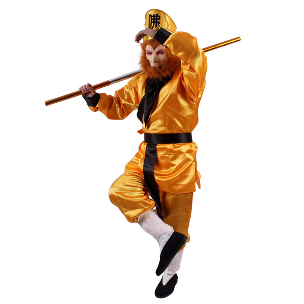Precise Sun Wukong Costumes For Children Halloween Cosplay Funny Costumes Chinese Tv Play Monkey King Costumes For Kids Kids Costumes & Accessories