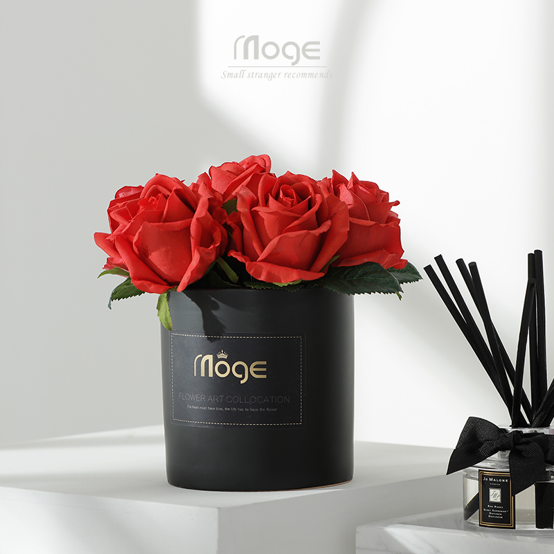 Valentine's Day Gift Simulation Moisturizing Rose Home Table Floral Decoration Teacher Holiday Decoration Flower Decoration