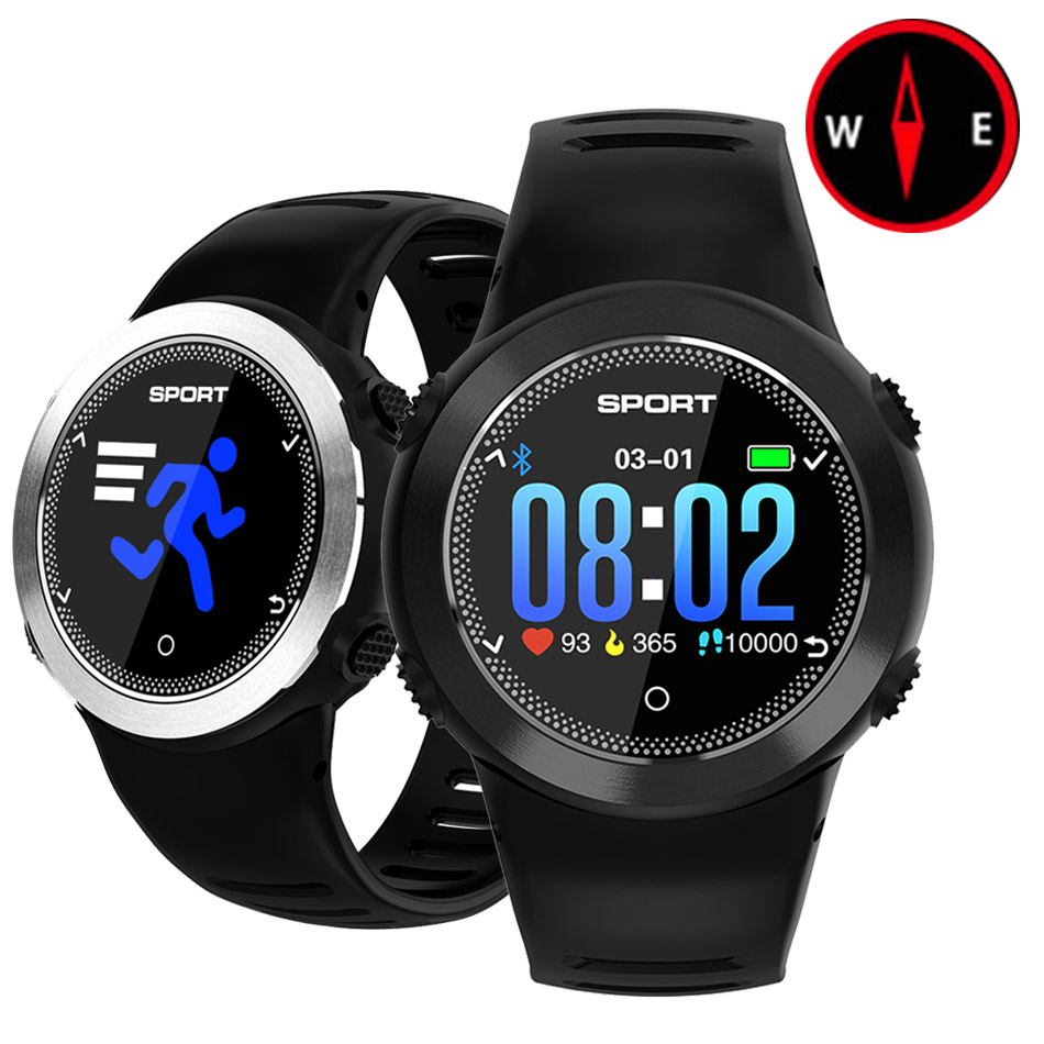 Outdoor Smart Watch Men Women Bluetooth Heart Rate Monitor Compass Pedometer Fitness Run Waterproof Sport Watch For Android IOSOutdoor Smart Watch Men Women Bluetooth Heart Rate Monitor Compass Pedometer Fitness Run Waterproof Sport Watch For Android IOS
