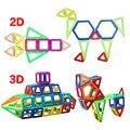 Mini 40 & 52 pçs/lote Modelos de Construção Magnético Blocos de Construção de Brinquedos DIY 3D Tijolos Crianças Brinquedos Educativos de Aprendizagem Magnética