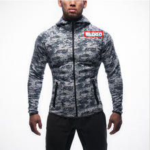 2019 Hoodies Sweatshirts Men's Casual Camouflage Zipper Sweatshirt Sports Tops Autumn Winter Mens Hooded Sweatshirts jacket цены онлайн