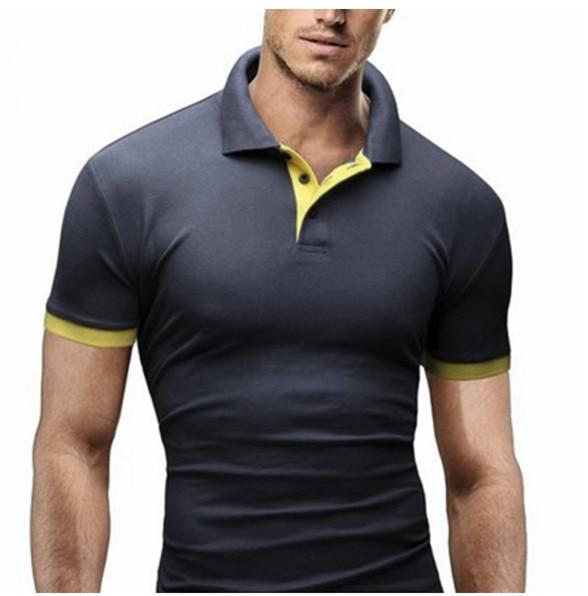 Amazon calidad 2016 nueva camisa de polo de hombres camisas de polo de manga larga de algodón de los hombres polos para niños marca polo homme