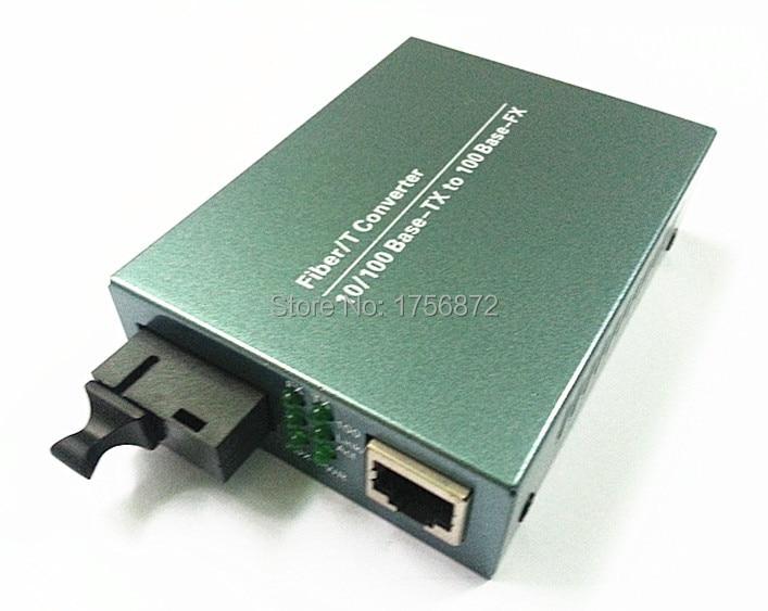 10 / 100M Transceptor óptico de conversor de mídia de fibra de - Equipamento de comunicação - Foto 2