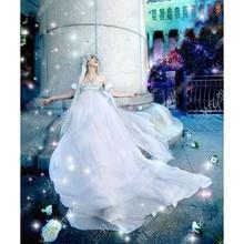 Аниме Сейлор Мун Принцесса Серенити Tsukino Усаги Косплей Костюм Формальное Белое Платье SL Или На Заказ Любой Размер Бесплатная Доставка
