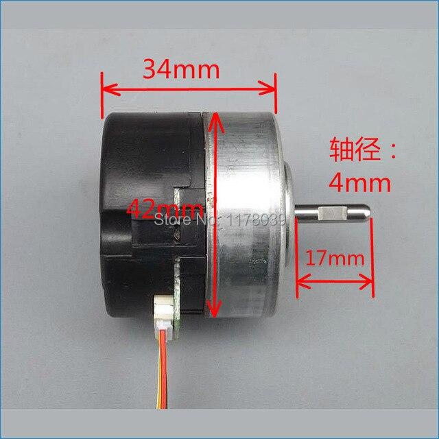 12 volt Micro brushless dc elektromotoren geschwindigkeit 4800 rpm ...