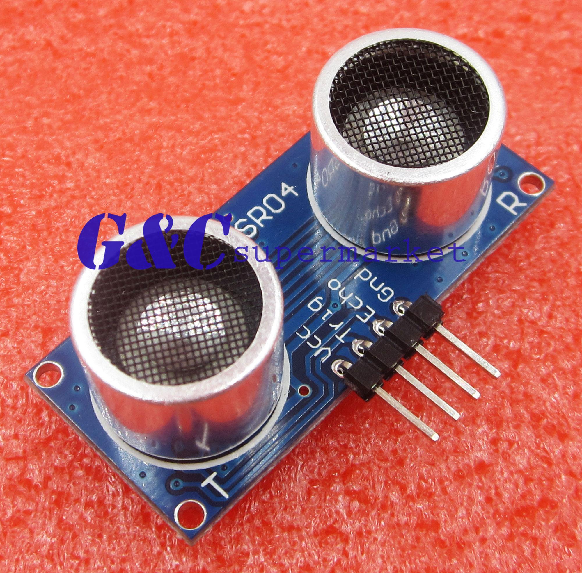 Arduino lesson Ultrasonic Sensor HC-SR04