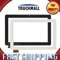Para iget smart s100 pantalla táctil del reemplazo de cristal digitalizador blanco negro de 10.1 pulgadas para la tableta