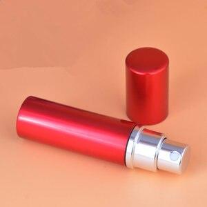 Image 5 - 50pcs/Lot 10ml Pump Wholesale 10cc Perfume Bottle Refillable Atomizer Spray Empty Plain Parfums Aluminum Glass Scent Bottle