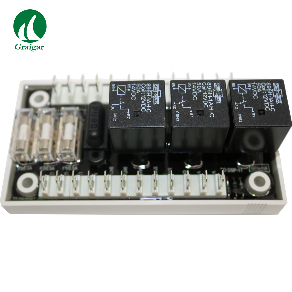 New Genset Controller Accessories GCU-11R 12V Relay Module Available in 12 VDC and 24 VDC Battery Battery Voltage image