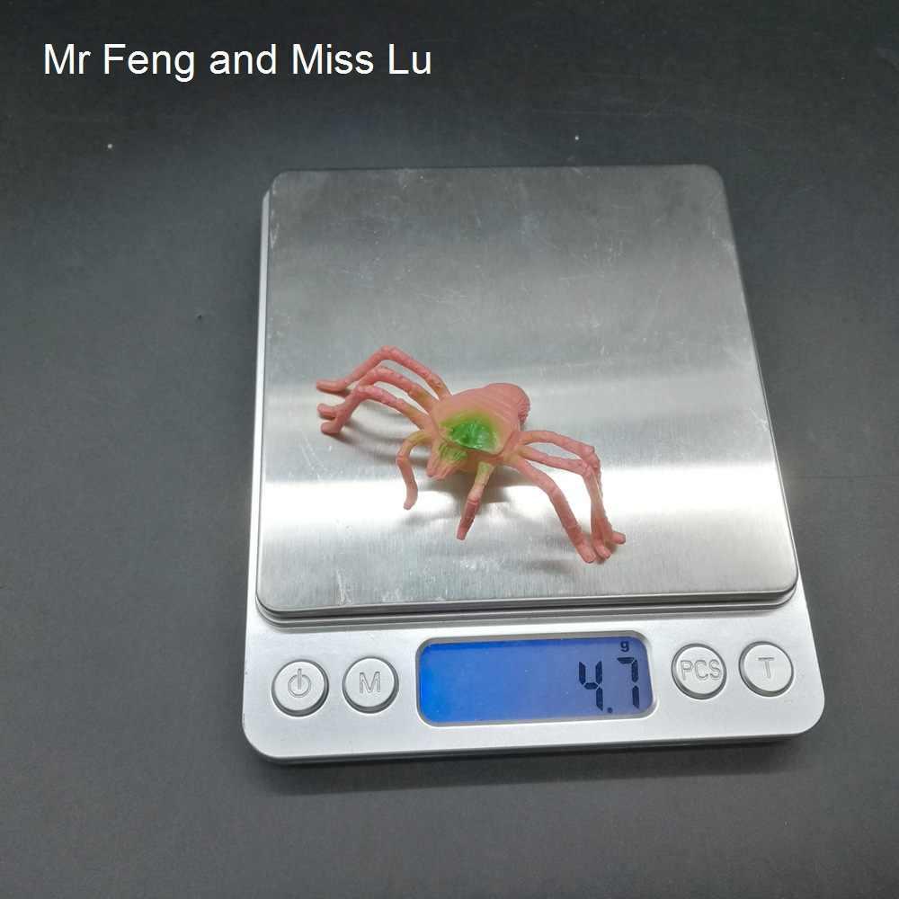 Rosa Aranha Inserir Gags Prático Ciência Brinquedos Animais Modelo Jogo Da Natureza