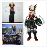 2016 New Arrival Boku no Hero Academia Cosplay Costume Battle Clothing