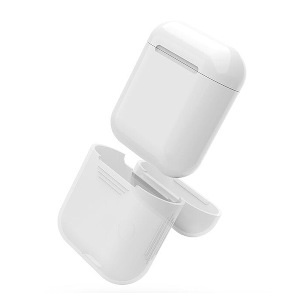 bilder für Für Apple Airpods Air Schoten Silikon Fall Schutzhülle Tasche Anti Verloren Schutz Elegante Hülse Fundas Zubehör Förderung