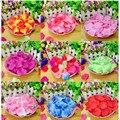 Pétalas de rosa 2000 pcs Por Saco Artificial Vaso Festa De Casamento Decoração do chá de Panela Favor Centerpieces Flor Confete
