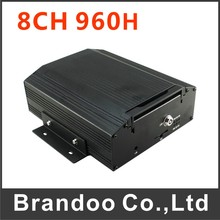 Profession 8 channel car dvr mdvr for vehicle bus truck used BD-308