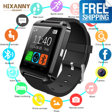 New Bluetooth Smart Watch U8 For iPhone IOS Android Women Smart Phone Wear Clock Wearable Device MenSmartwatch PK GT08 DZ09 new fahion sport u8 smart watch electronic intelligent clock pedometer for women men unisex smart watch pk u8 gt08 dz09