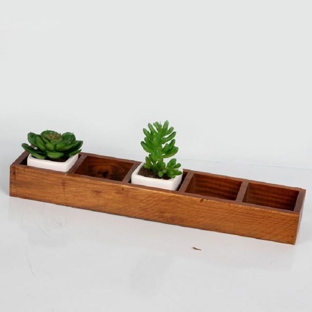 Unterschiedlich Online-Shop Retro 5 gitter holzkiste für balkon topfpflanze  XM96