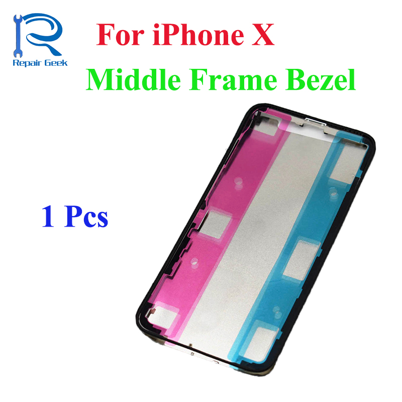 New High Quality For iPhone X 5.8 Middle Frame Front Bezel LCD Touch Screen Housing Repair Parts For IX I10 IPX