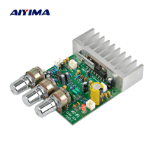 Aiyima Dual Channel Amplifier Board 50W + 50W HIFI Stereo Audio Amplifer Low Noise DC12V
