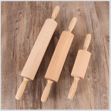 hot deal buy solid wooden rolling pin fondant cake dough roller pastry & baking tools kitchen cooking gadgets 3 size