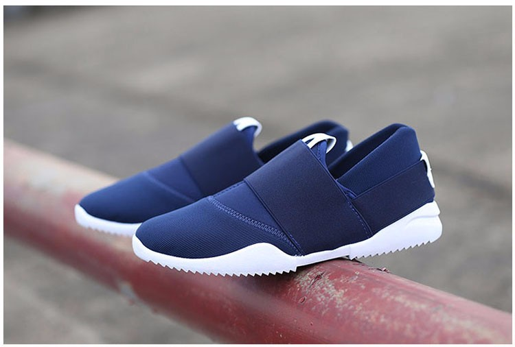 Hellozebra Men Casual Shoes Breathable Board Flats Soft Shoe Set Foot A Pedal Lazy Tide Mesh Students Shoes 2016 Autumn New  (2)