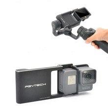 Frete Grátis Handheld Camera Gimbal Adapter Connector For DJI OSMO Handheld Cardan Câmera Para GOPRO Hero 5 4 3 RC brinquedos
