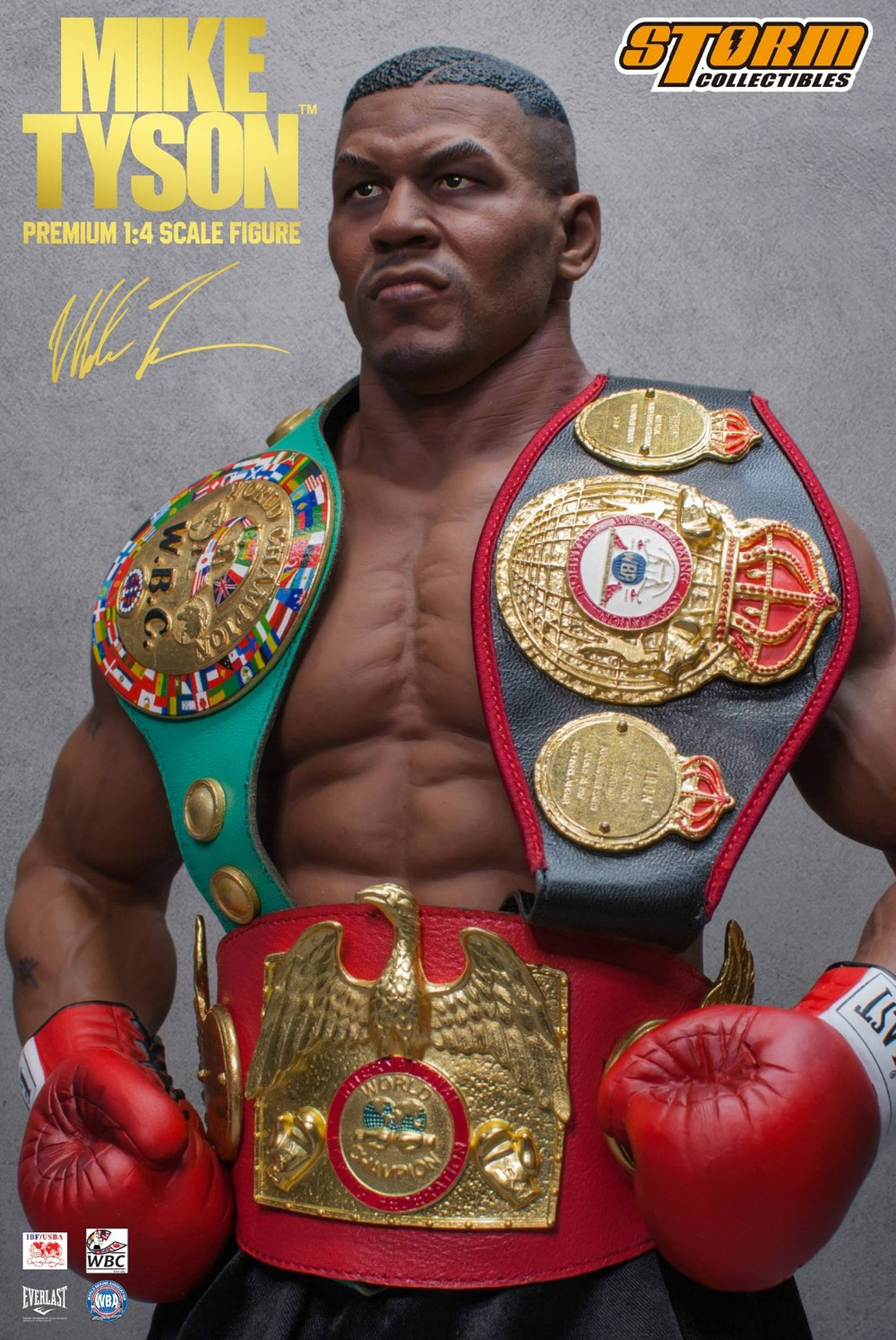 100/% AUTHENTIC Storm Collectibles Mike Tyson 1//12 Scale Action Figure US SELLER