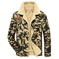 Denim Jackets New Fashion Retro Warm Denim Jackets Mens Jeans Coats AFS JEEP Winter Jackets Brand Thicken Denim Coat Men 125