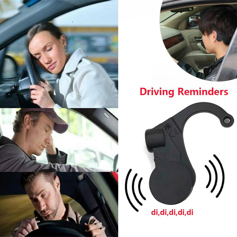 Dispositivo de seguridad para coche antisueño alarma de alarma somnoliento recordatorio para que el conductor del coche siga despierto accesorios para el coche