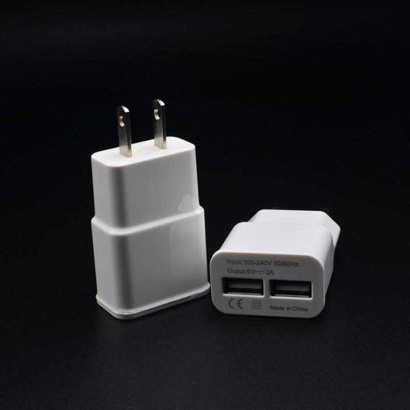 5V2A adapter smart dual port usb charging head universal quick adapter in AC DC Adapters from Home Improvement