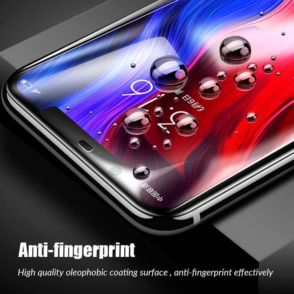 9D غطاء كامل الشاشة الزجاج المقسى ل الأحمر مي نوت 5 6 7 برو الهاتف بوكو F1 على 6X A2 لايت الأحمر مي 5 زائد 6 6A 6PRo مي 8 9 se cc9e