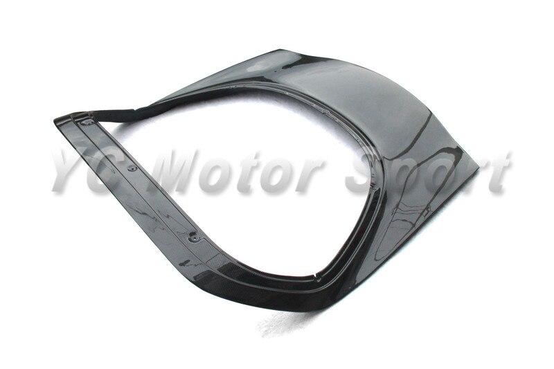 Car Accessories FRP Fiber Glass OEM Style Rear Hatch Fit For 1992-1997 RX7 FD3S Rear Hatch Trunk Car-styling