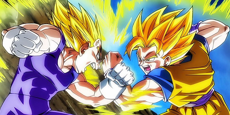 Enfants De Bande Dessinee Serviettes Dragon Ball Super Saiyan